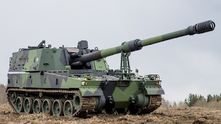 Howitzer Swa-Gerak K9 Hanwha Defense