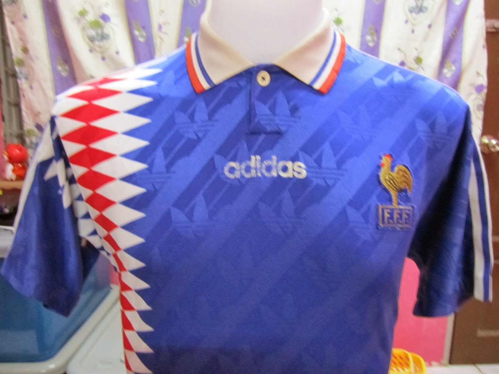 new product 80510 df395 BundleWalla: Vintage France Home Jersey 1994