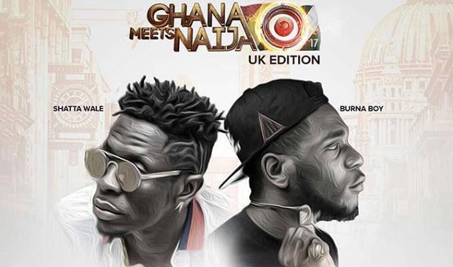 Shatta Wale, Burna Boy Named For Ghana Meets Naija -UK