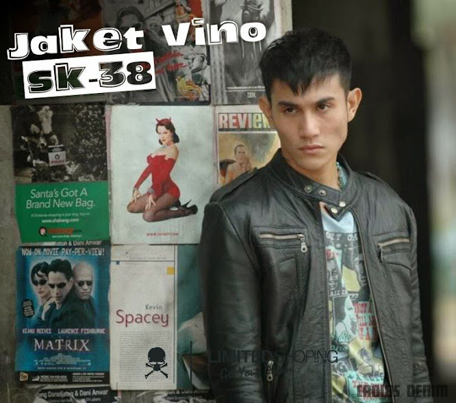 limited shoping sk38 jaket kulit vino leather jacket