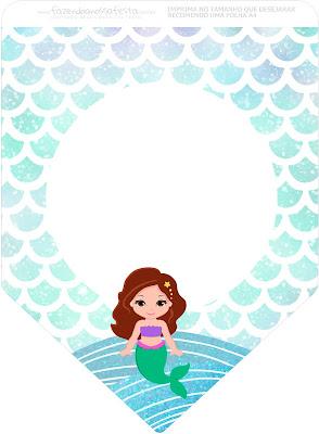 Deniz Kızı, Deniz Kızı Temalı Parti Seti, Deniz Kızı Parti fikirleri, Deniz Kızı Parti konsepti,