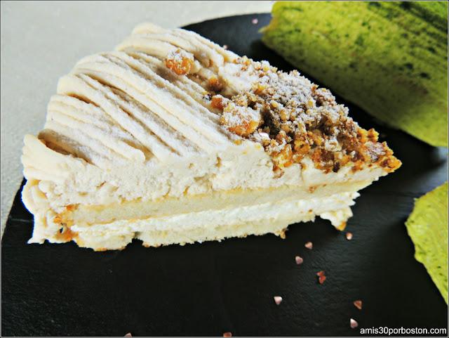 Postre Cena San Valentín: Gâteau aux Marrons