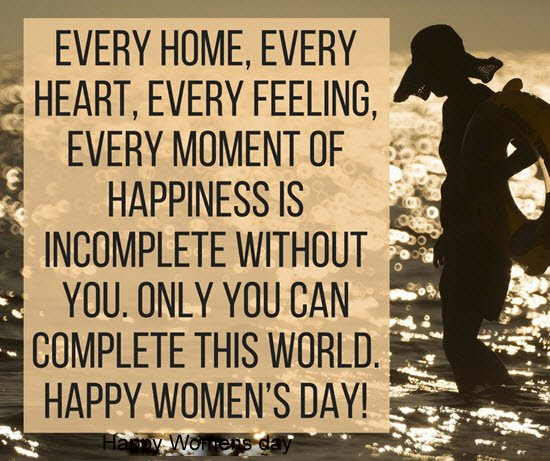 Women Thoughts Quotes: Top 60 Happy Women's Day Wishes