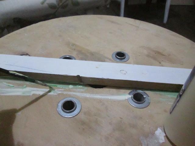 IMG 0125 - שולחן קפה מסליל חוטי חשמל