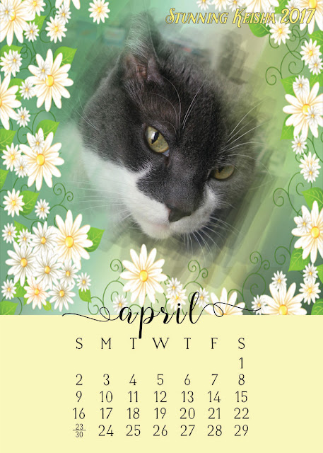 Stunning April Downloadable Calendar
