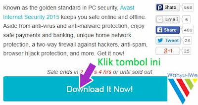 Avast Internet Security 2015 Full Versi Gratis dan Legal