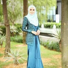 Baju Muslim Batik Kerja Modern