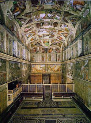Foto Wiki Commons - Matéria sobre a Capela Sistina - BLOG LUGARES DE MEMÓRIA