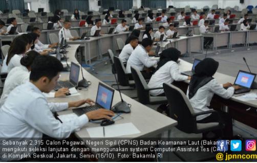 Sistem IT Perpendek Proses Registrasi Ulang Peserta Tes CPNS