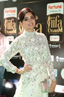 Poonam Kaur in Beautiful Floor Length Gown at IIFA Utsavam Awards 2017  Day 2  Exclusive 27.JPG