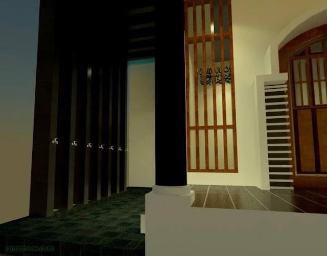 Desain Tempat Wudu Minimalis