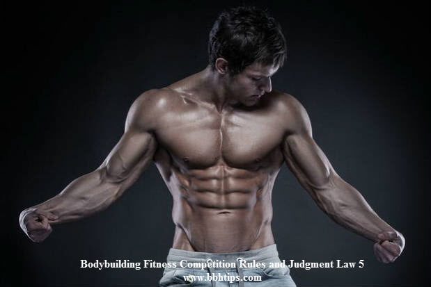 Bodybuilding Fitness Competition Rules Judgment Law 5