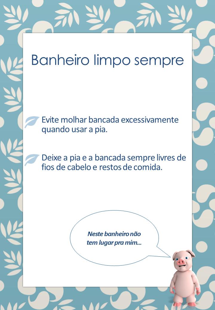 Design de apresentações Cartaz fácil com PowerPoint -> Cartazes Banheiro Feminino