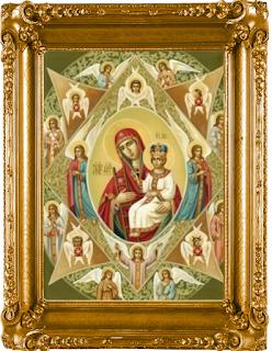Икона родившихся под знаком Близнецы «Неопалимая купина»
