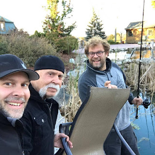 The Teutul family does some fishing together