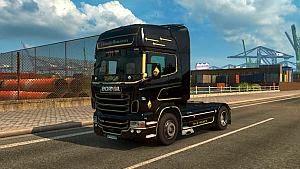 Scania RJL Hindelman Black Beauty skin