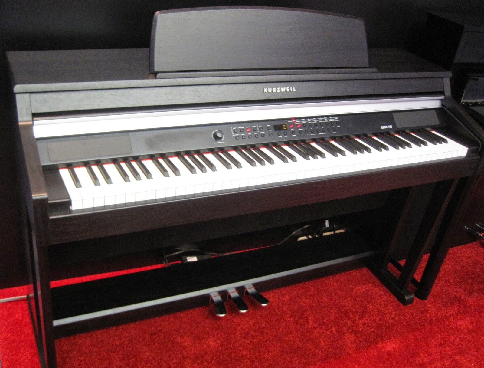 az piano reviews piano pedals in digital acoustic pianos. Black Bedroom Furniture Sets. Home Design Ideas