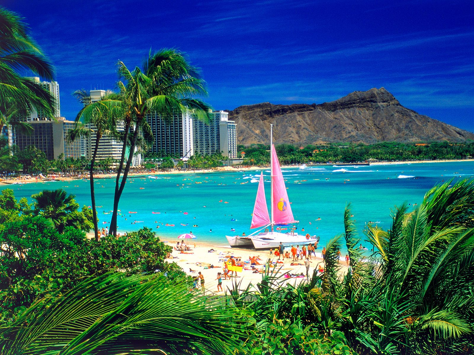 Exotic Places: Hawaii Beach