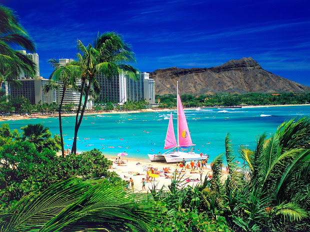 Exotic Places Hawaii Beach