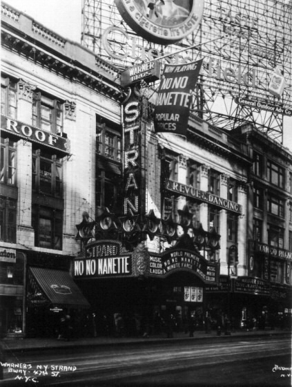 NEW YORK TOURS BY GARY : The Strand Theatre New York City