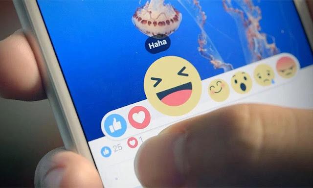 """""""فيسبوك"""" يطلق ميزة """"ردود الفعل"""" بجانب الإعجاب"""