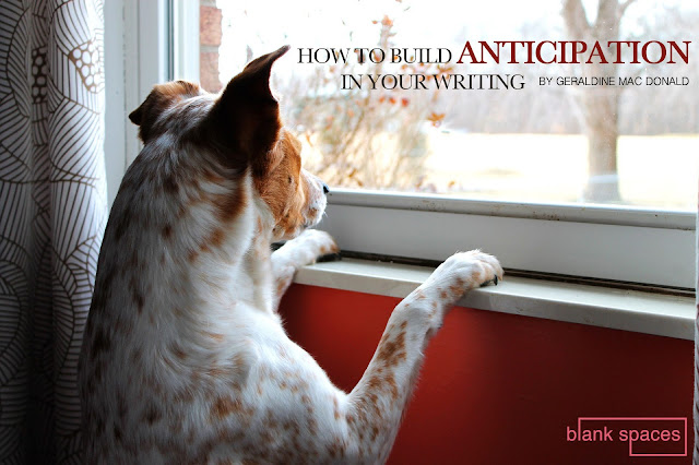how to build anticipation in your writing