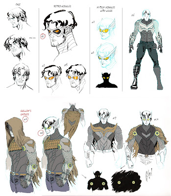 Talon designs by Guillem March