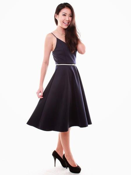 0aaf620d6af Wherescinderella Twiggy Midi Dress