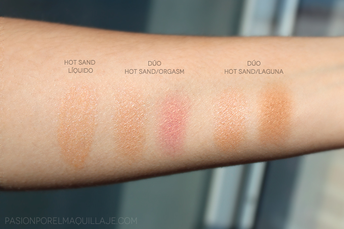 Swatches Hot Sand polvo Nars