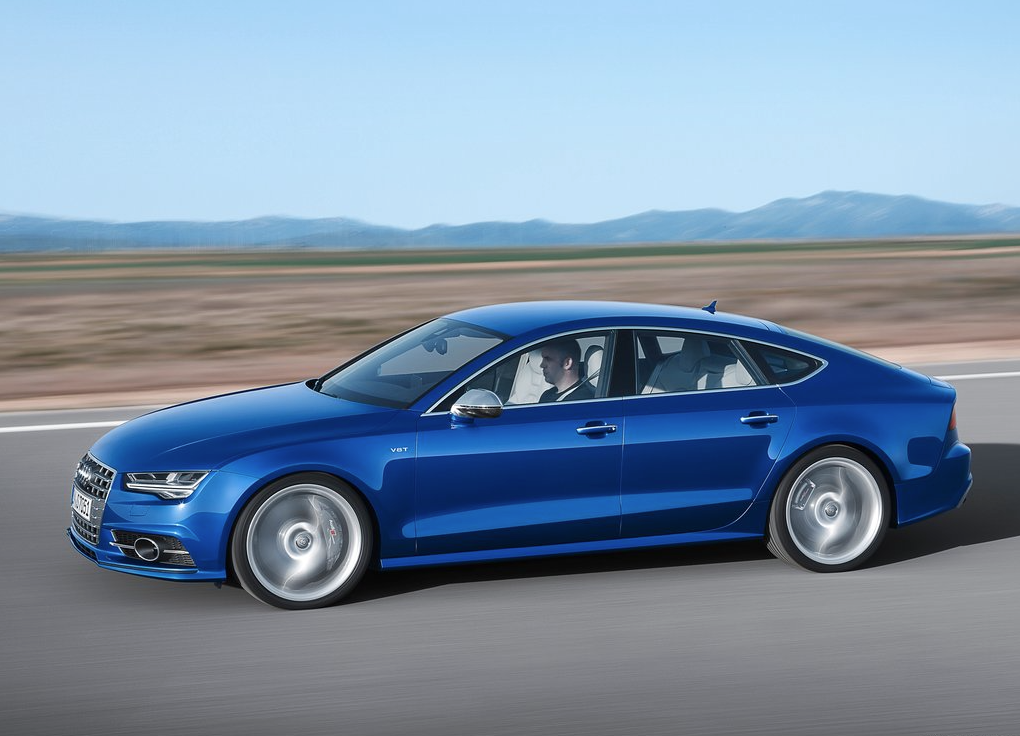 2015 Audi S7 blue