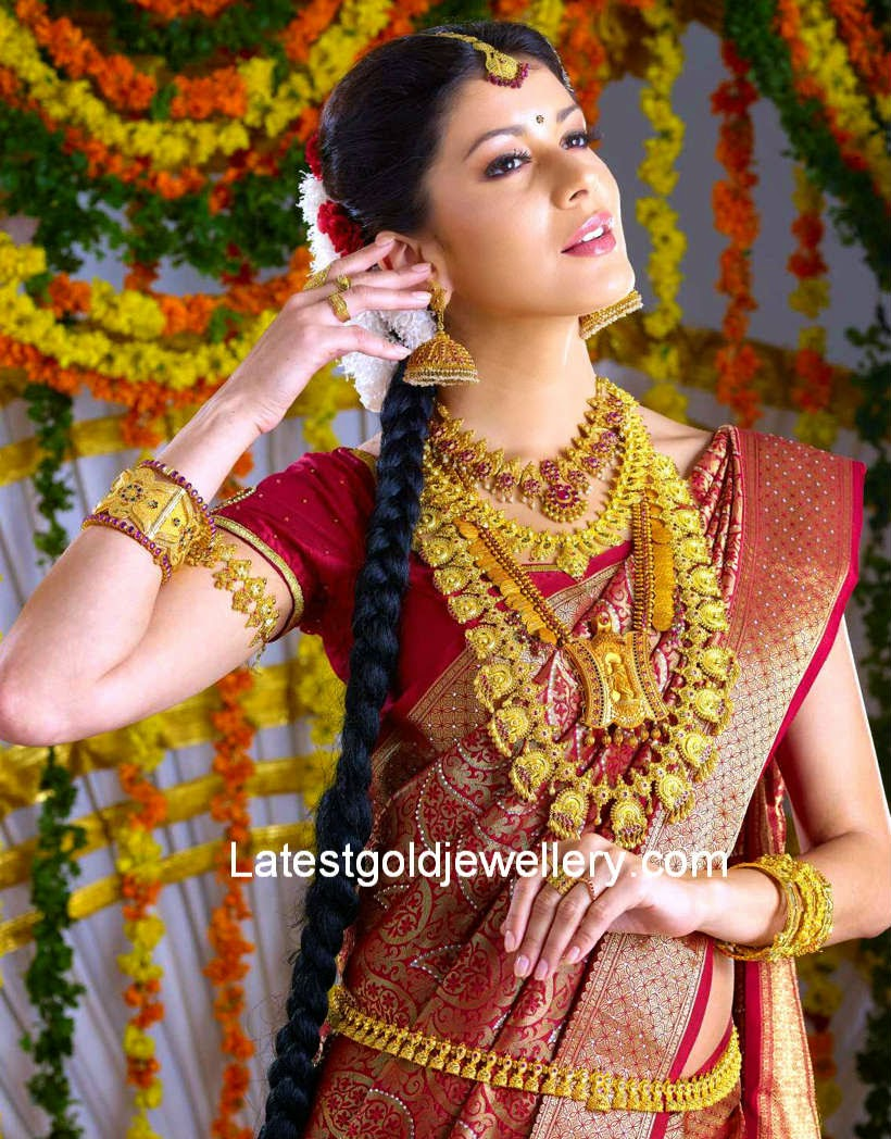 Traditional South Indian Jewellery Latest Gold Jewellery Designs