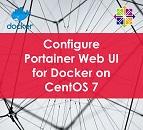 Configure Portainer Web UI for Docker on CentOS 7