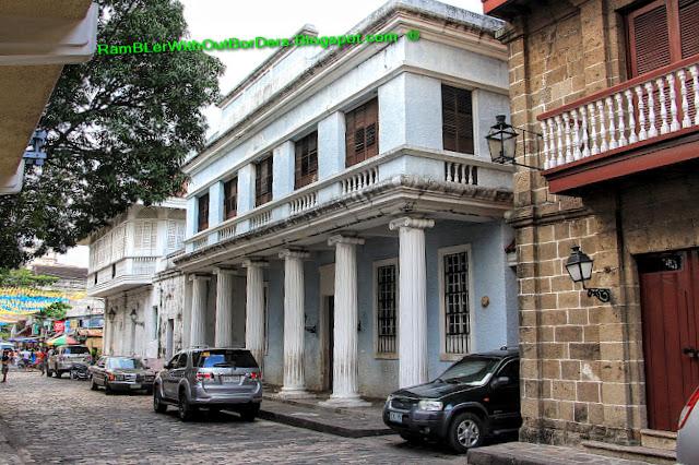Plaza San Luis, , Casa Manila, Intramuros, Manila, Philippines