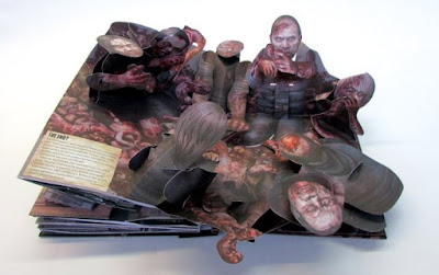 The Walking Dead Pop Up Book - Gruesome
