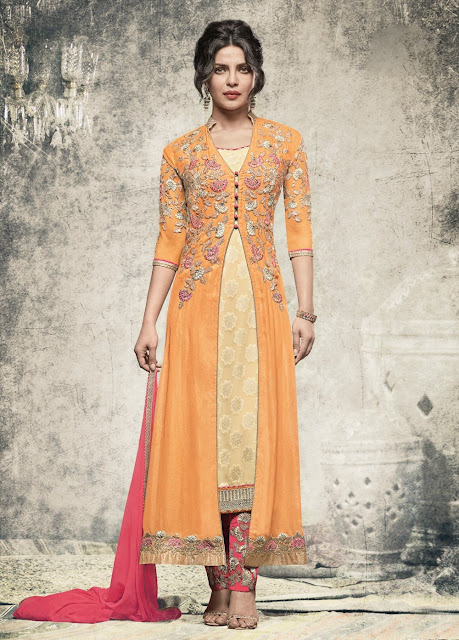 0f3cd9b641 10 Latest Salwar Kameez Designs to try this Wedding Season | Bling ...