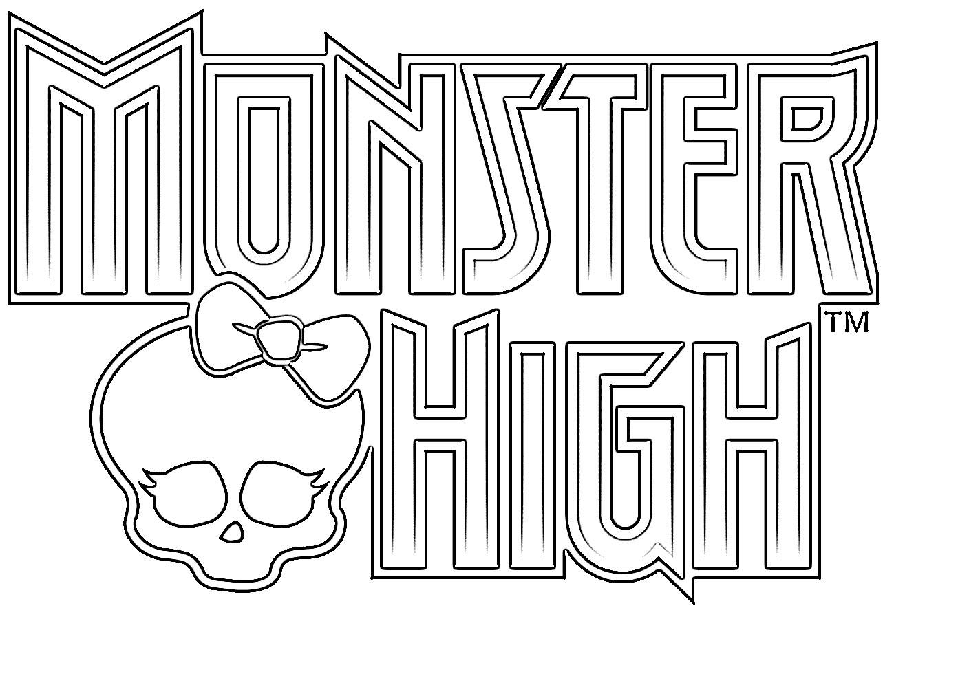 malvorlagen kostenlos monster high