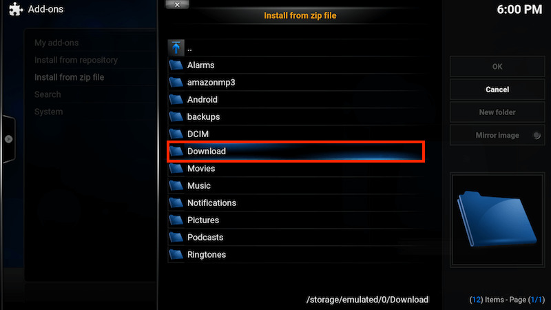 How To Download and Install  Zip File On Firestick TV Kodi