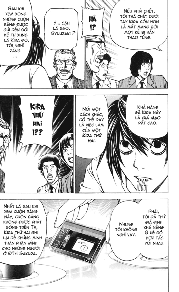 Death Note chapter 025 trang 10