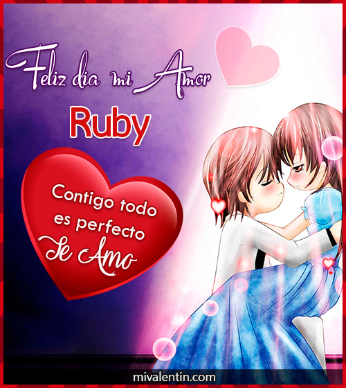 Feliz San Valentín Ruby