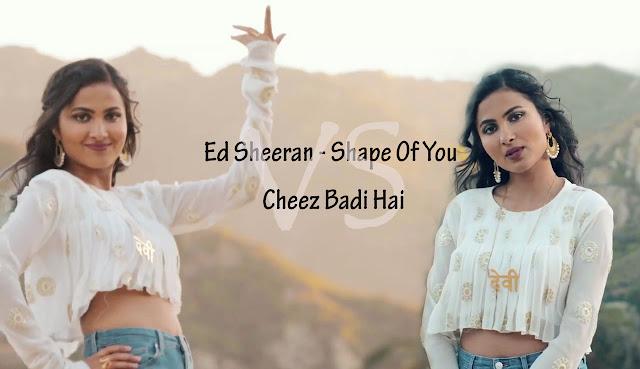Ed-Sheeran-Shape-Of-You-Cheez-Badi-Hai-Vidya-Vox