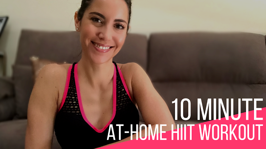 Fitness And Chicness-10 Minute at home HIIT Workout-1