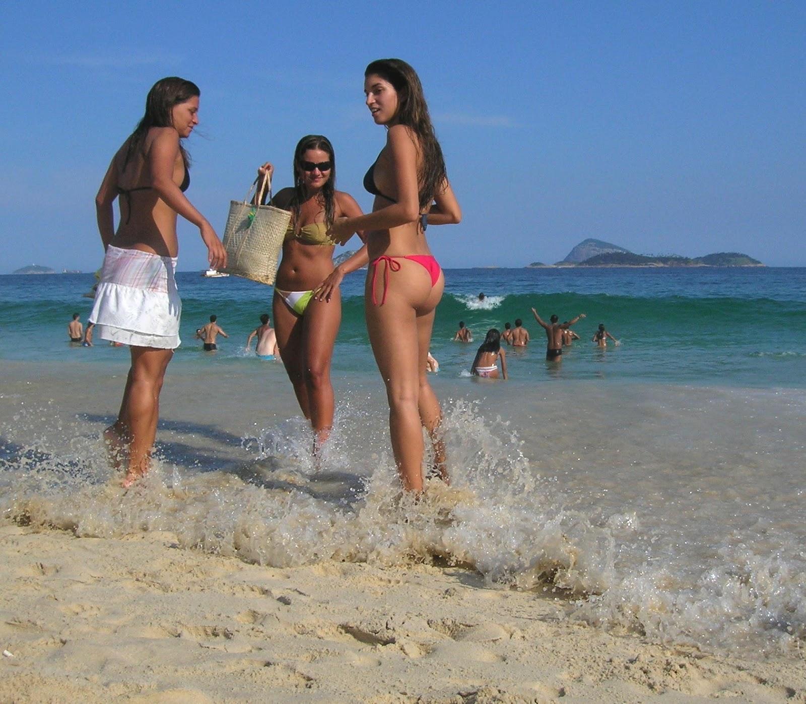 beach bikini girl Indian