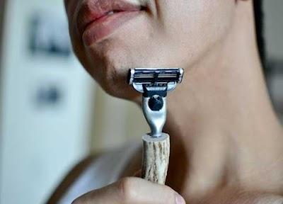 Diy Maquinilla de Afeitar con Mango Rama de Arbol