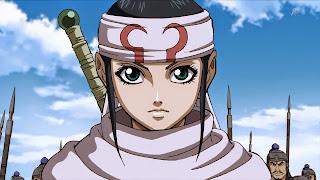 Kyou Kai to jedna z czołowych postaci w Kingdom - od dziecka była wychowywana na skrytobójcę