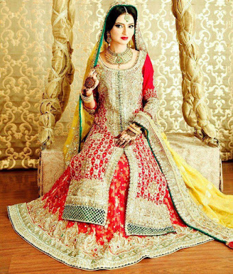 Latest Bridal Dresses 2015