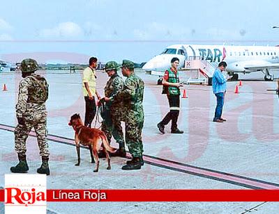 Aterriza de emergencia avión por amenaza de bomba, en Tampico