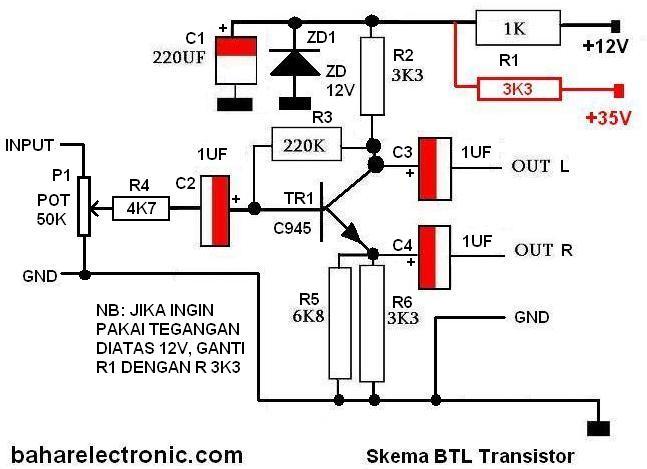 hasil gambar untuk skema rangkaian btl ic 4558 sound di 2018