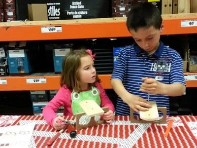 Home Depot Classes Kids Workshop