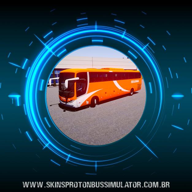 Skin Proton Bus Simulator - Comil Campione 3.65 VW 18.330 Euro V Real Maia