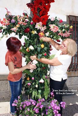 Cruz de Mayo 2016 emotiva en Bañaderos, Arucas
